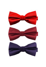 Knotz Bow Ties (Red, Bright Red, Purple)
