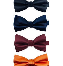 Knotz Bow Ties (Black, navy, burgundy, orange)