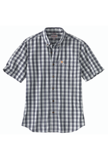 Carhartt Carhartt Short-Sleeve Button-up Plaid Shirt