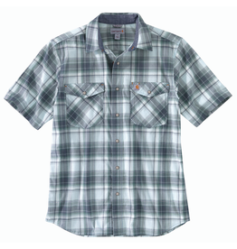 Carhartt Carhartt Short-Sleeve Snap Button-Front Plaid Shirt