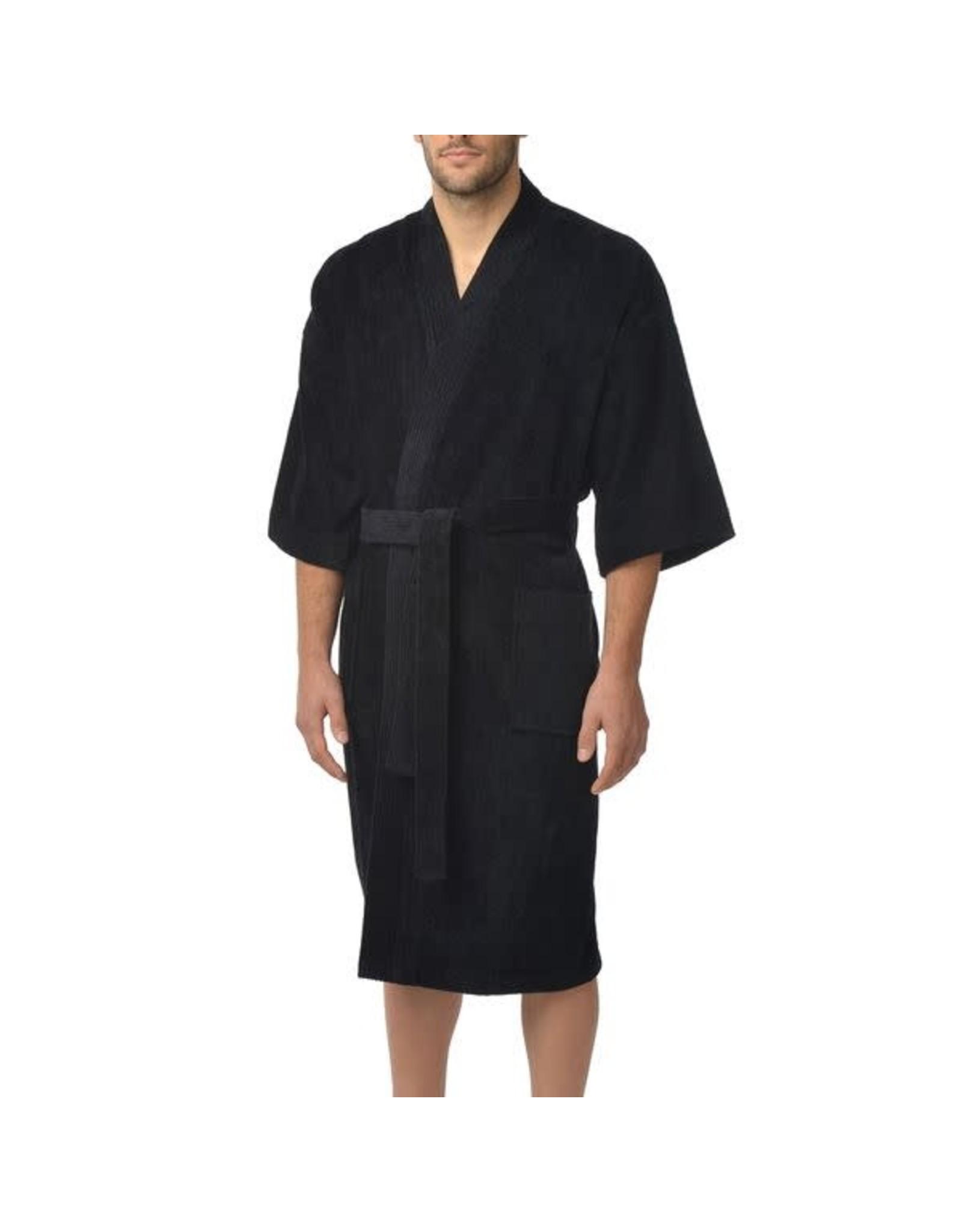 Majestic Majestic Velour Terry Kimono Robe