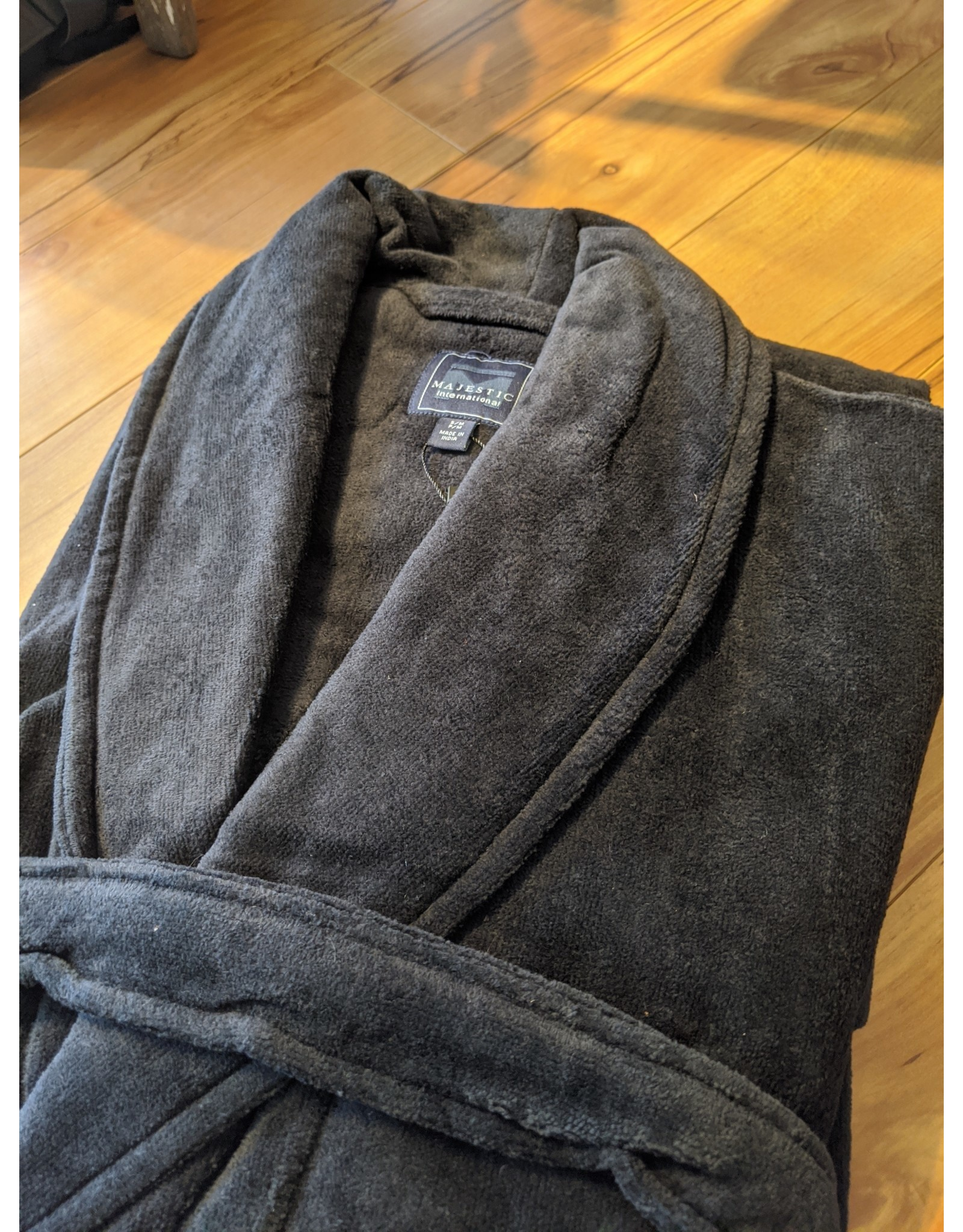 Majestic Majestic Terry Velour Shawl Robe