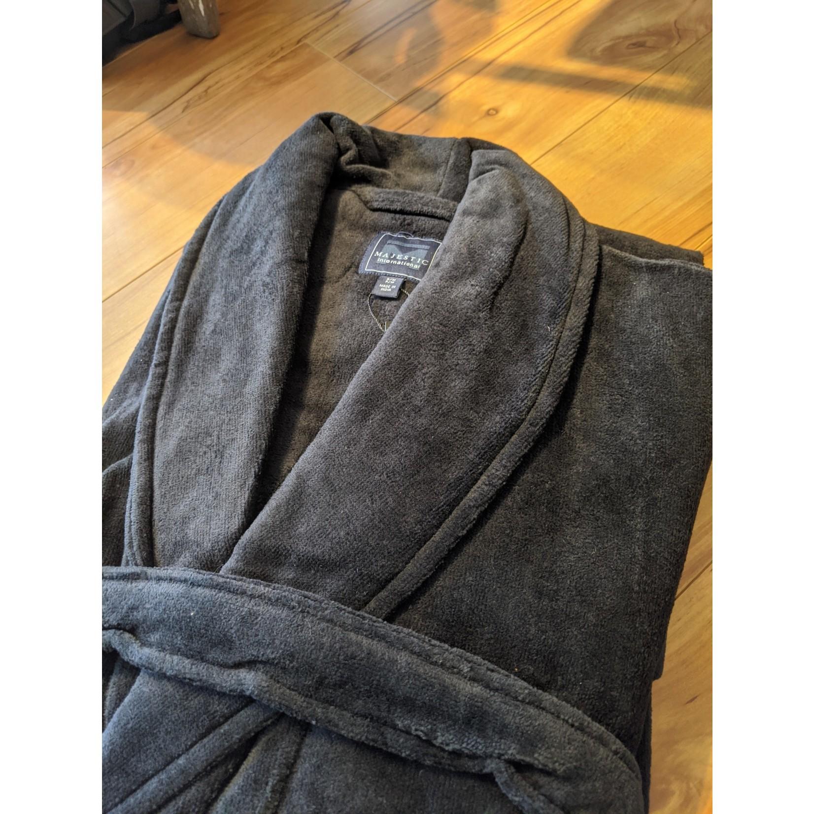 Majestic Majestic Terry Velour Shawl Robe