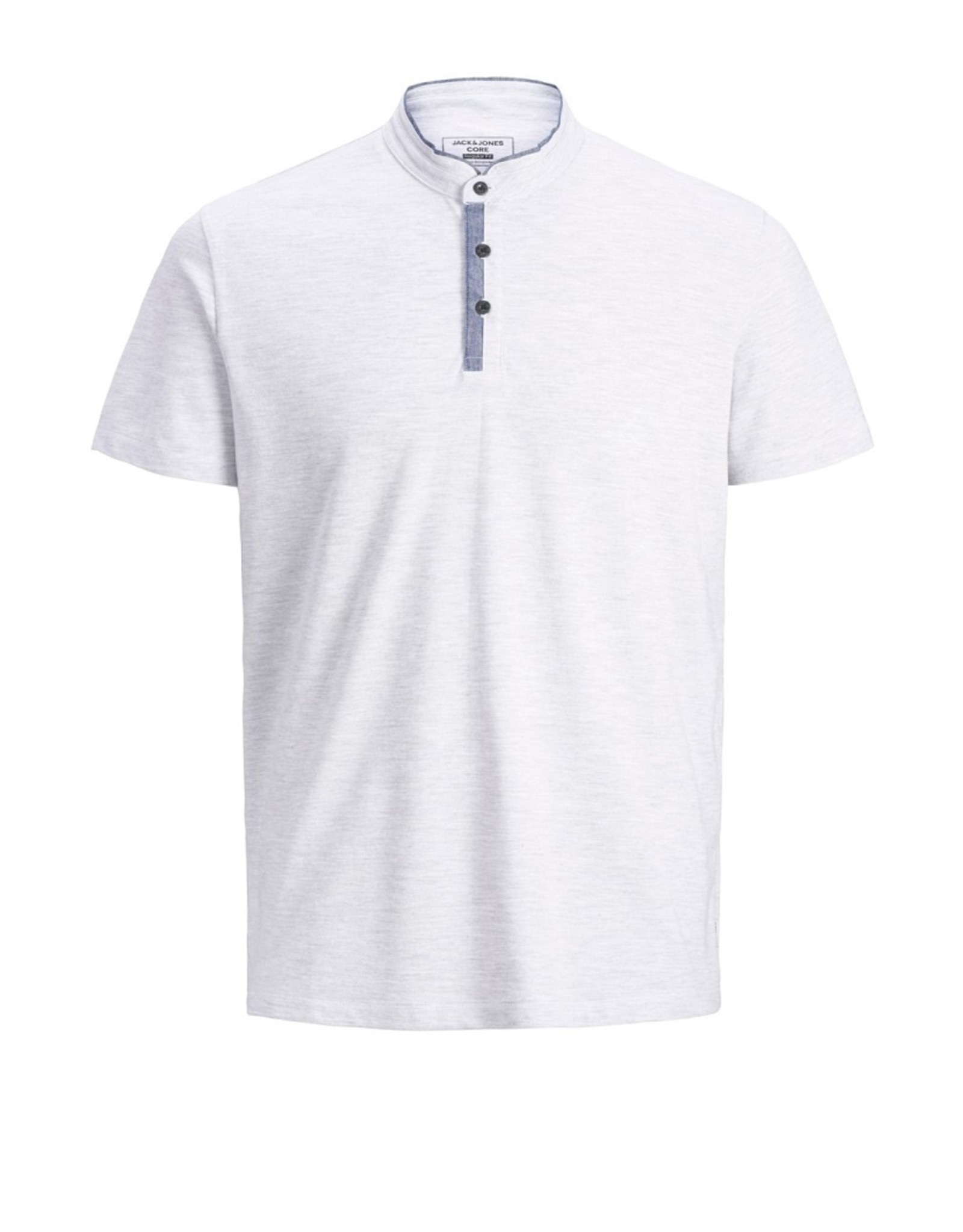 Jack & Jones Jack & Jones Short Sleeve No Collar Polo
