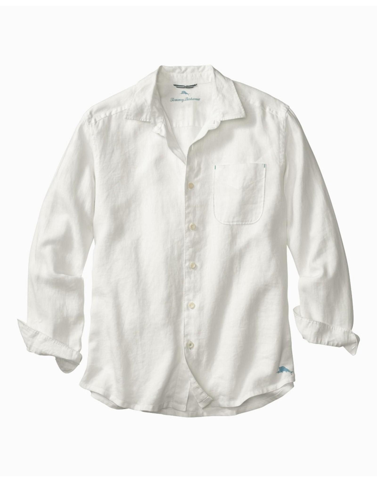 Tommy Bahama Tommy Bahama Sea Glass Breezer Linen Long Sleeve