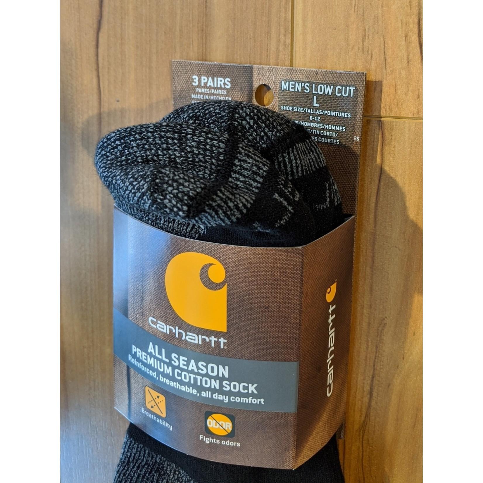 Carhartt Carhartt Low Cut Work Sock - 3 pack