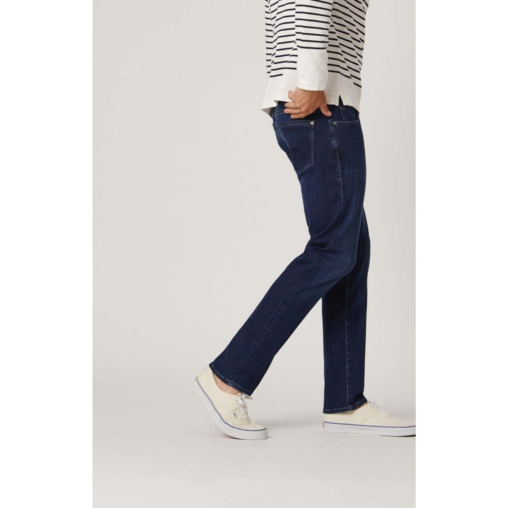 Mavi Mavi Marcus Dark Blue Supermove Slim Straight Leg