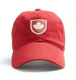 Red Canoe Canada Shield Cap