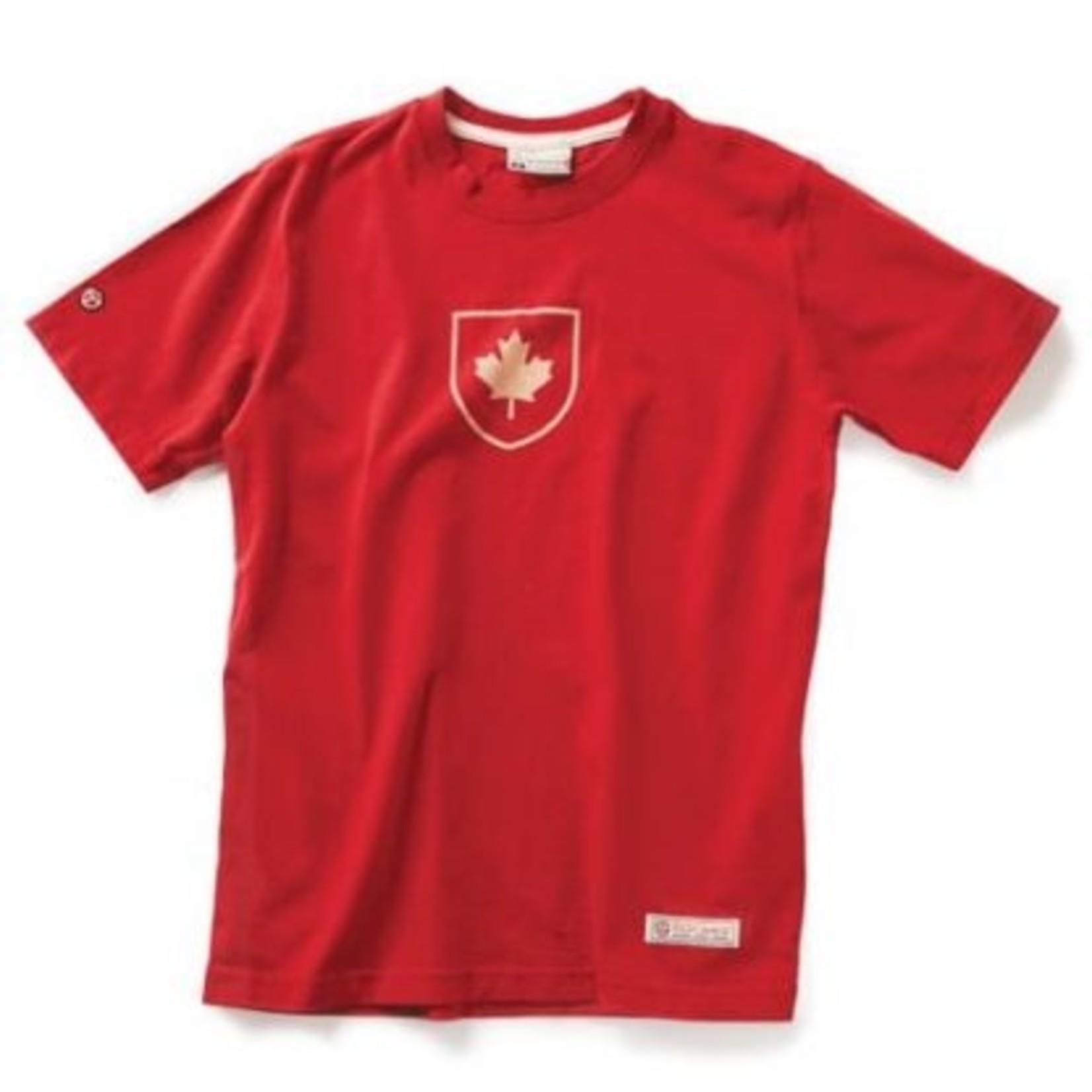 Red Canoe Red Canoe Canada Shield T-Shirt