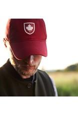 Red Canoe Canada Shield Cap