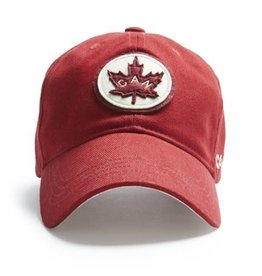 Red Canoe Canada Cap - Felt Circle Logo
