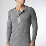 Stanfields Stanfield's Heavyweight Wool Henley - 2 Colors 1328