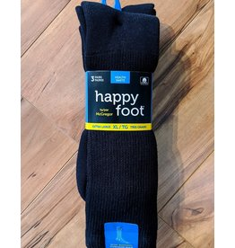 McGregor McGregor Happy Foot 3-Pk Health XL Crew Sock