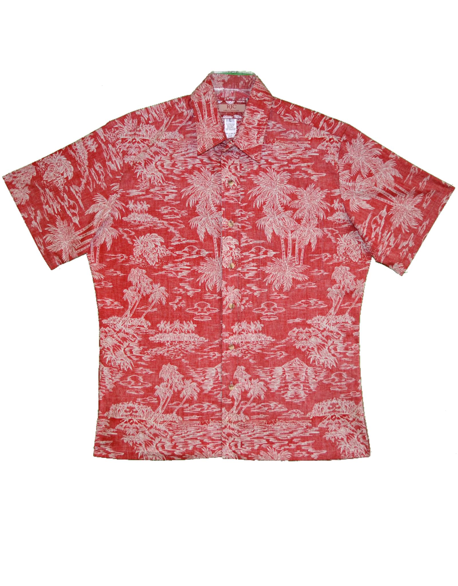 Robert J. Clancey Hawaiian Shirt 8308C.1159