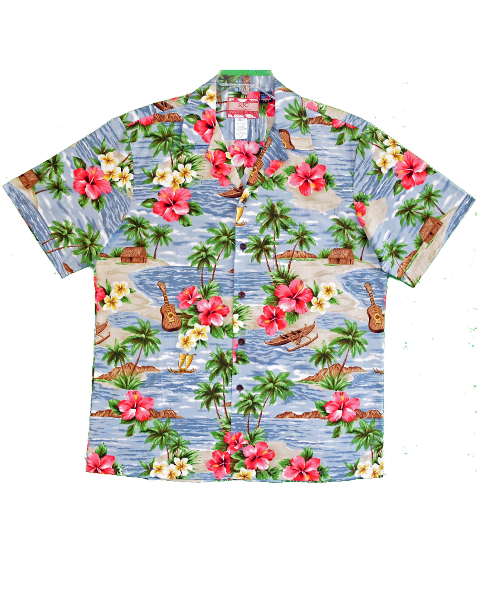 Robert J. Clancey Hawaiian Shirts 102C.X.259