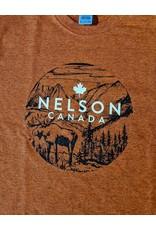 Nelson Souvenir Tee - Moose in Scenery