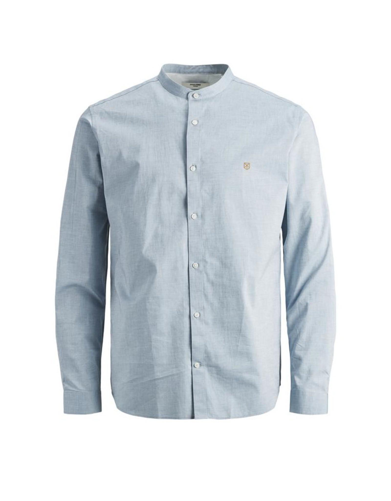 Jack & Jones Jack & Jones Mandarin Collar Springband Shirt