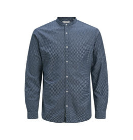 Jack & Jones Jack & Jones Mandarin Collar Summer Band Shirt