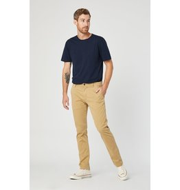 Mavi Mavi Marcus Slim Straight Leg Chino - Latte Sateen