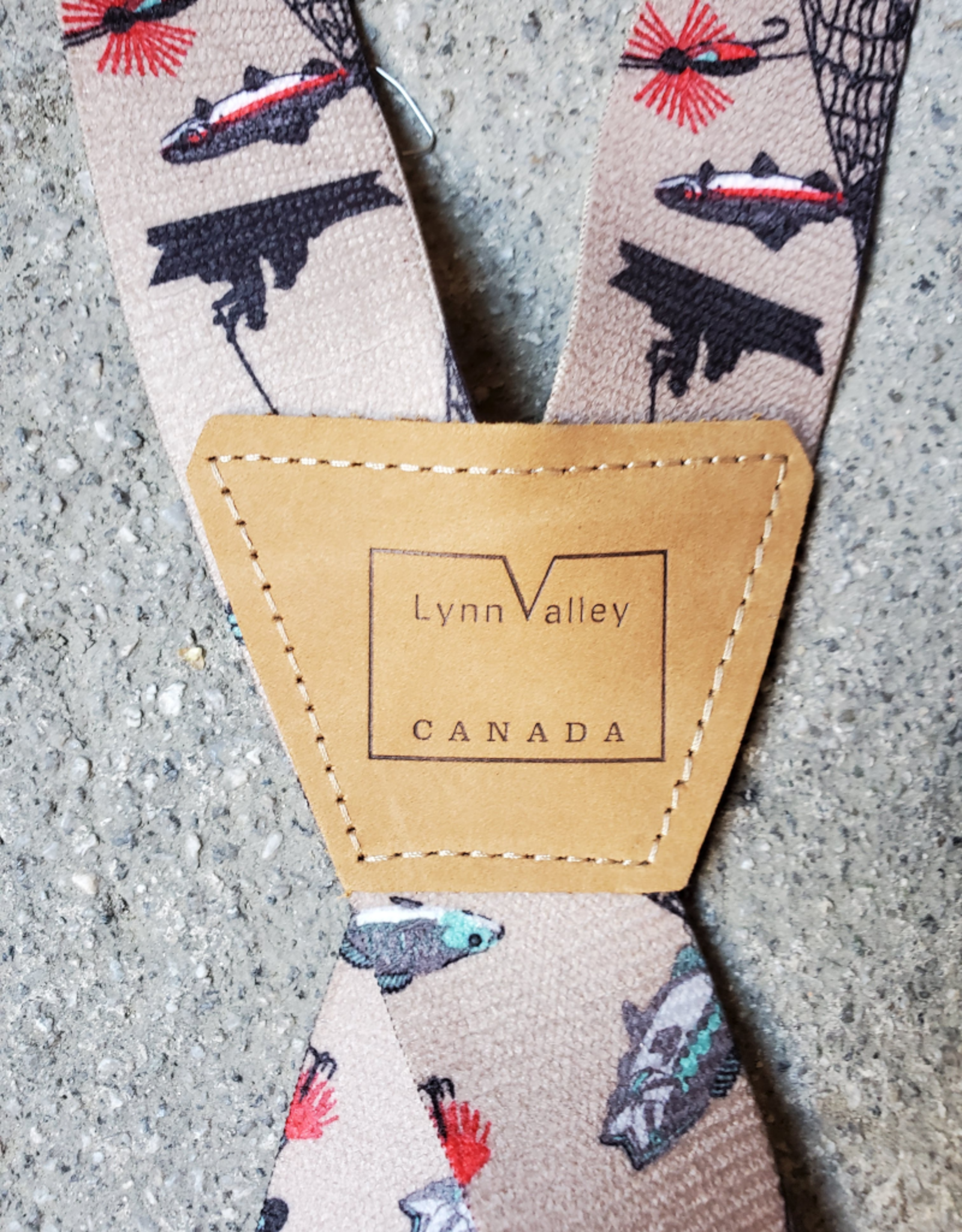 "Lynn Valley Mfg Lynn Valley 1.5"" Novelty Clip Suspender"
