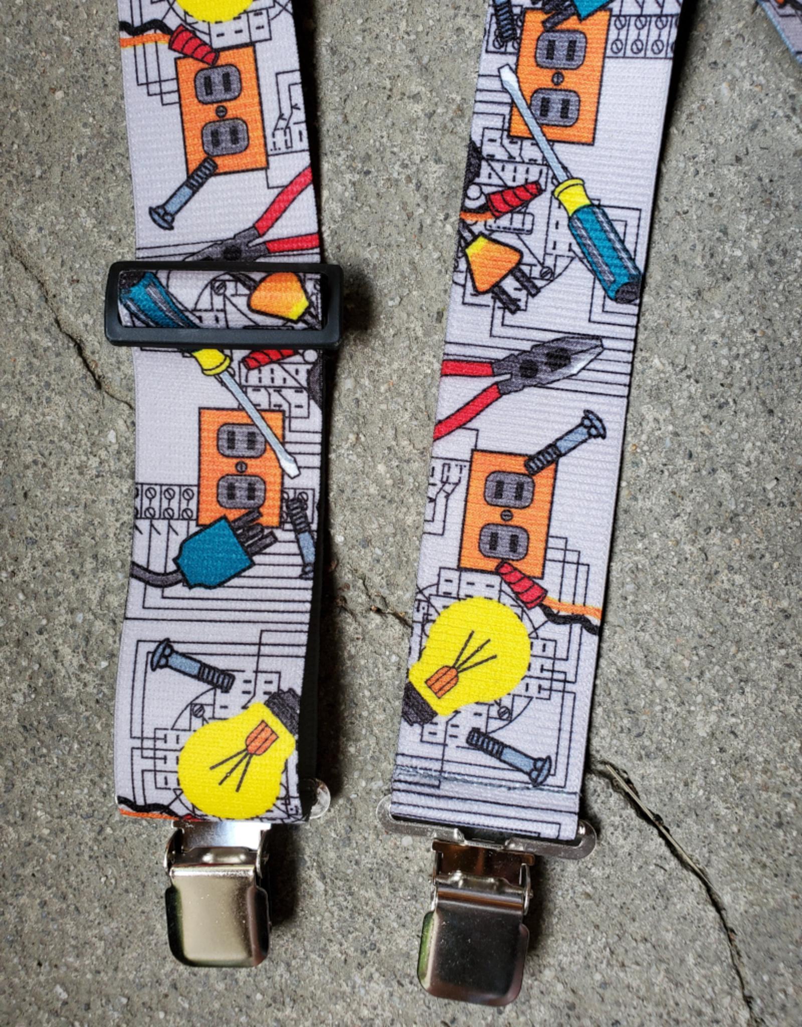 """Lynn Valley Mfg Lynn Valley 2"""" Novelty Clip Suspender"""