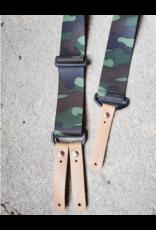 """Lynn Valley Mfg Lynn Valley 2"""" Heavy Duty Button Suspender - Camo"""