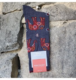 Marcoliani Marcoliani Pima Cotton Socks - Red Elephant