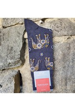 Marcoliani Marcoliani Pima Cotton Socks - Indigo Elephant