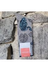 Marcoliani Marcoliani Pima Cotton Socks - Silver Tiger