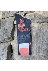 Marcoliani Marcoliani Pima Cotton Socks - Indigo Tiger