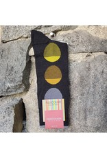 Marcoliani Marcoliani Pima Cotton Socks - Charcoal Striped Balloons
