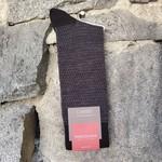 Marcoliani Marcoliani Extrafine Merino Socks - Black Birdesye & Dots