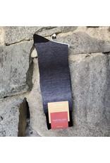 Marcoliani Marcoliani Socks - Black Shadows Shaded Piqué