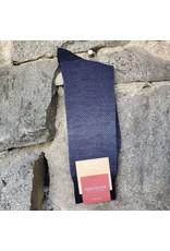 Marcoliani Marcoliani Socks - Stormy Blue  Shaded Piqué
