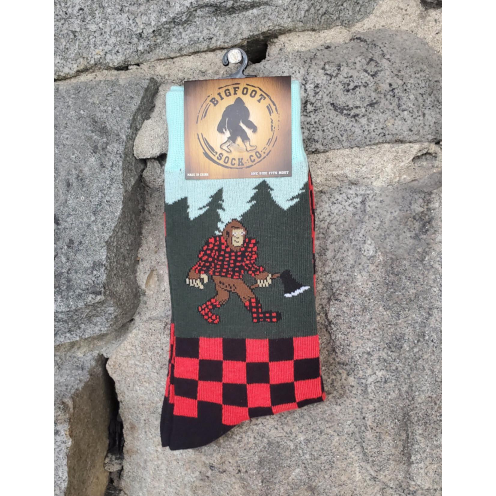 Bigfoot Bigfoot Socks -  Lumberjack Bigfoot