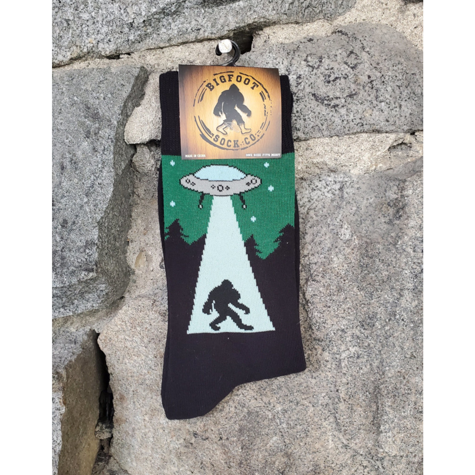 Bigfoot Bigfoot Socks - UFO Bigfoot