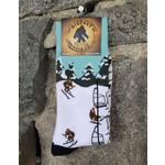 Bigfoot Bigfoot Socks - Skiing Bigfoot