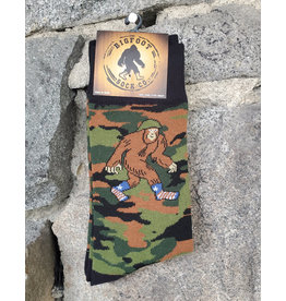 Bigfoot Bigfoot Socks - Camo Bigfoot