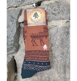Bigfoot Bigfoot Socks- Active Moose
