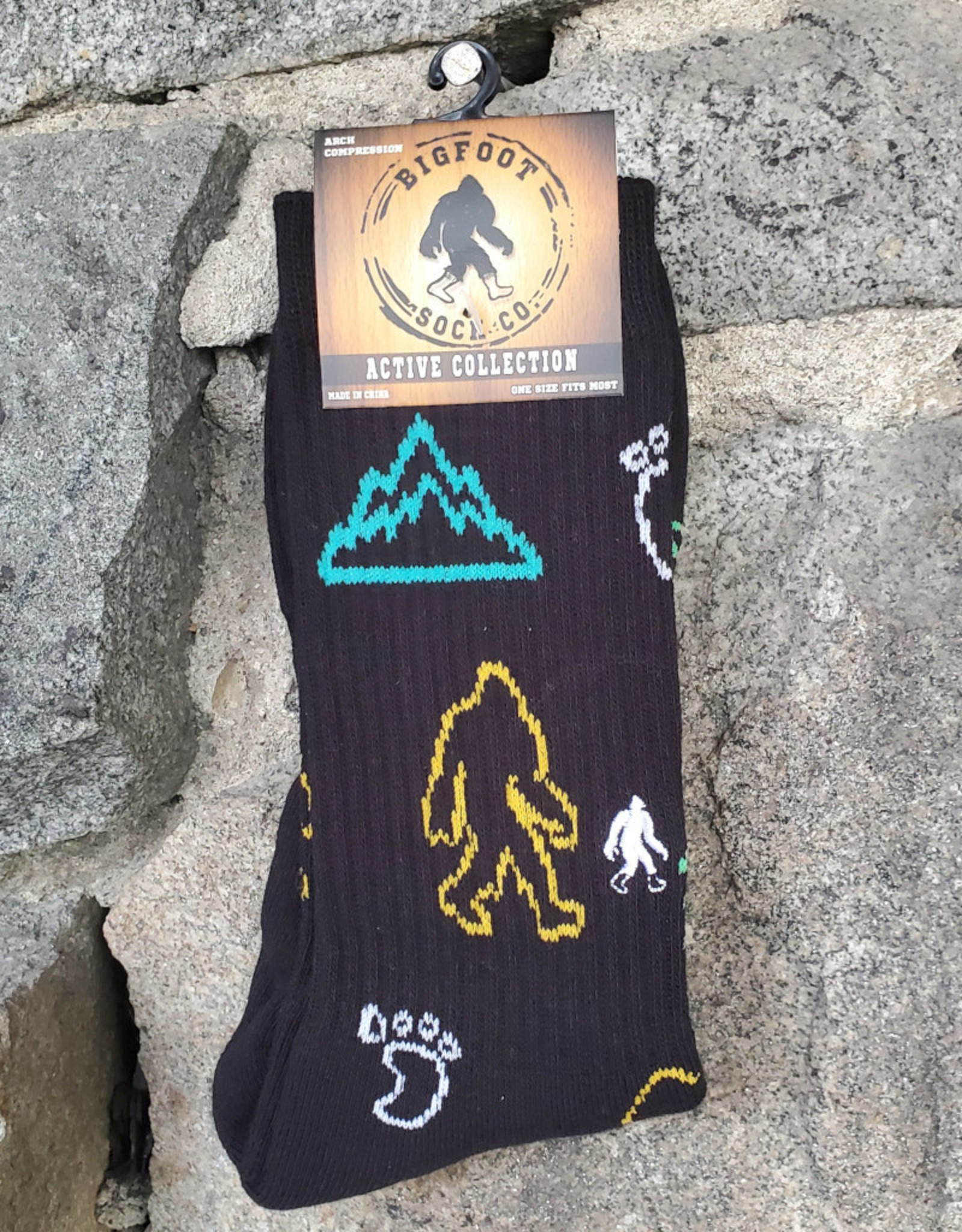 Bigfoot Bigfoot Socks -  Active Neon Bigfoot