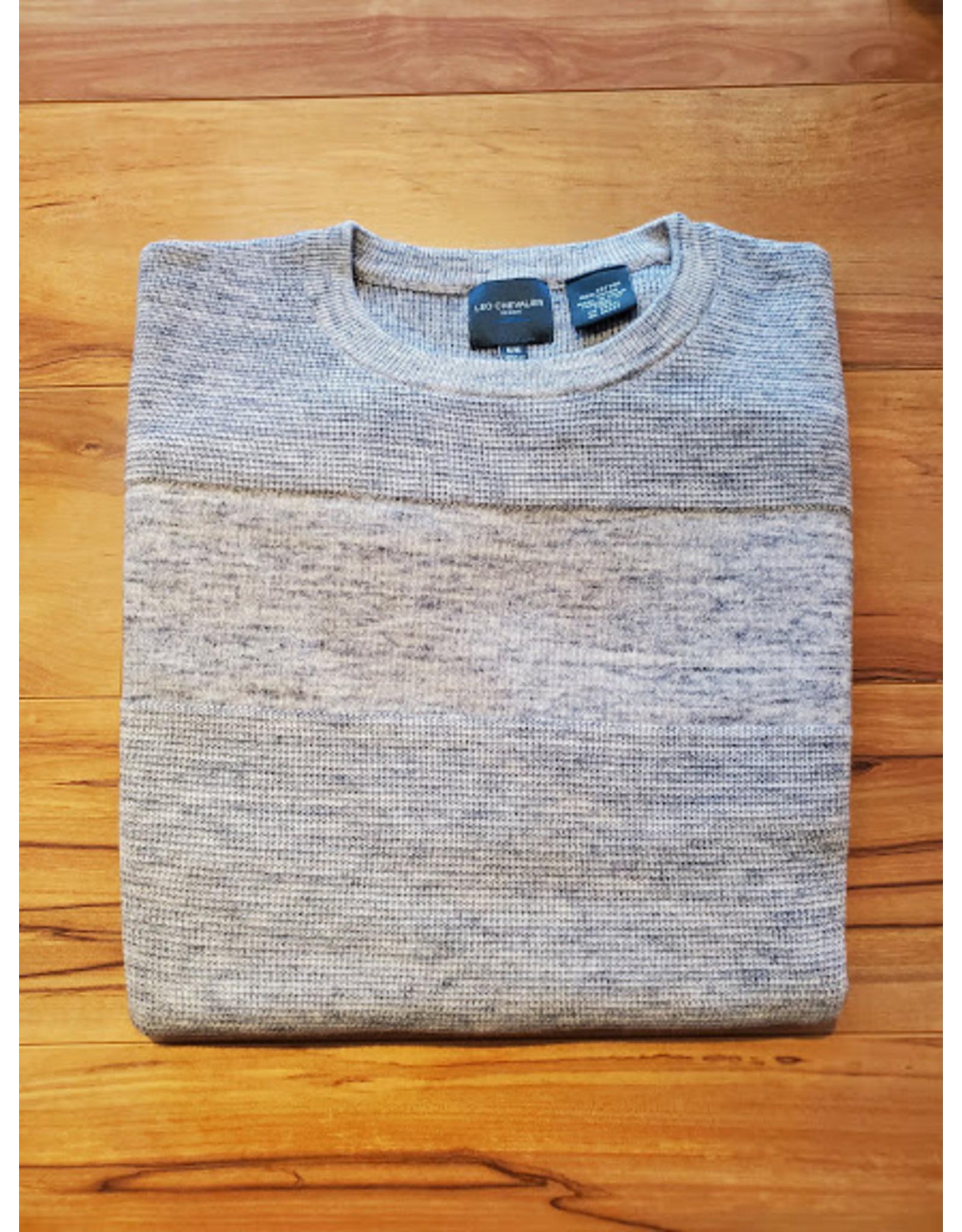 Leo Chevalier Leo Chevalier Cotton Crew Neck Sweater - 2 Colors