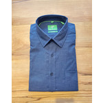 Forsyth Forsyth Long Sleeve Button Down - Heathered Navy Twill