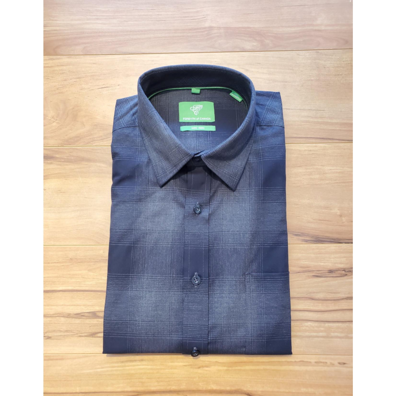 Forsyth Forsyth Long Sleeve Button Down - Heathered Coal Check