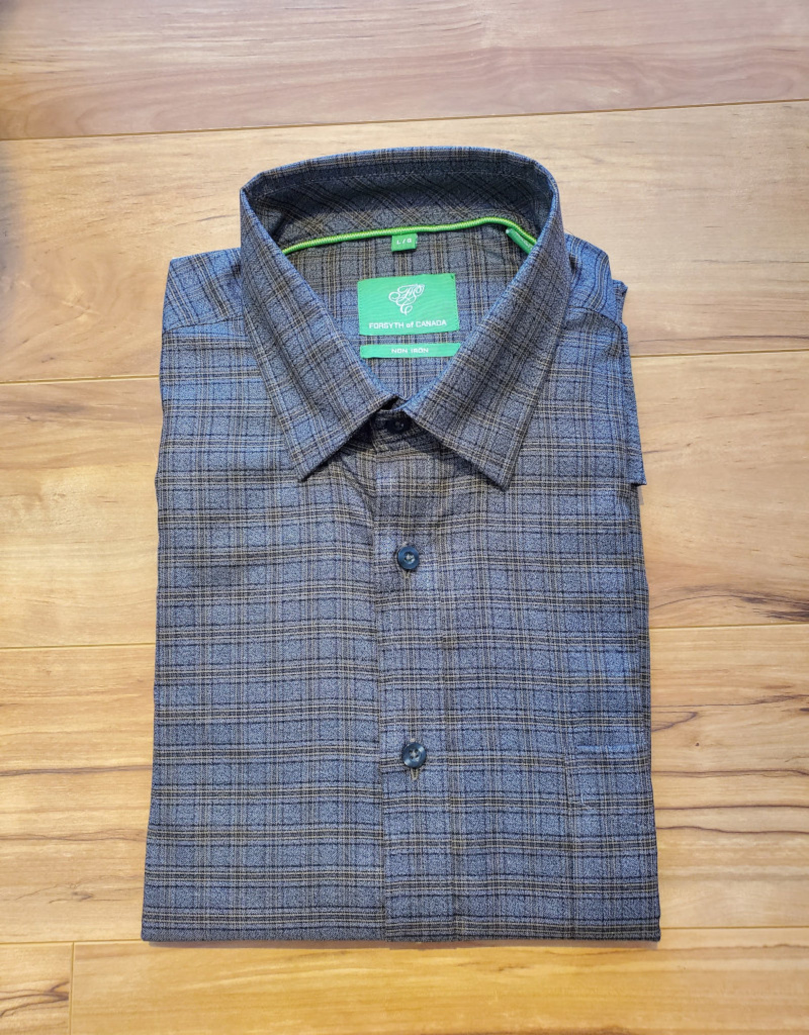 Forsyth Forsyth Long Sleeve Button Down - Jasper Olive Check