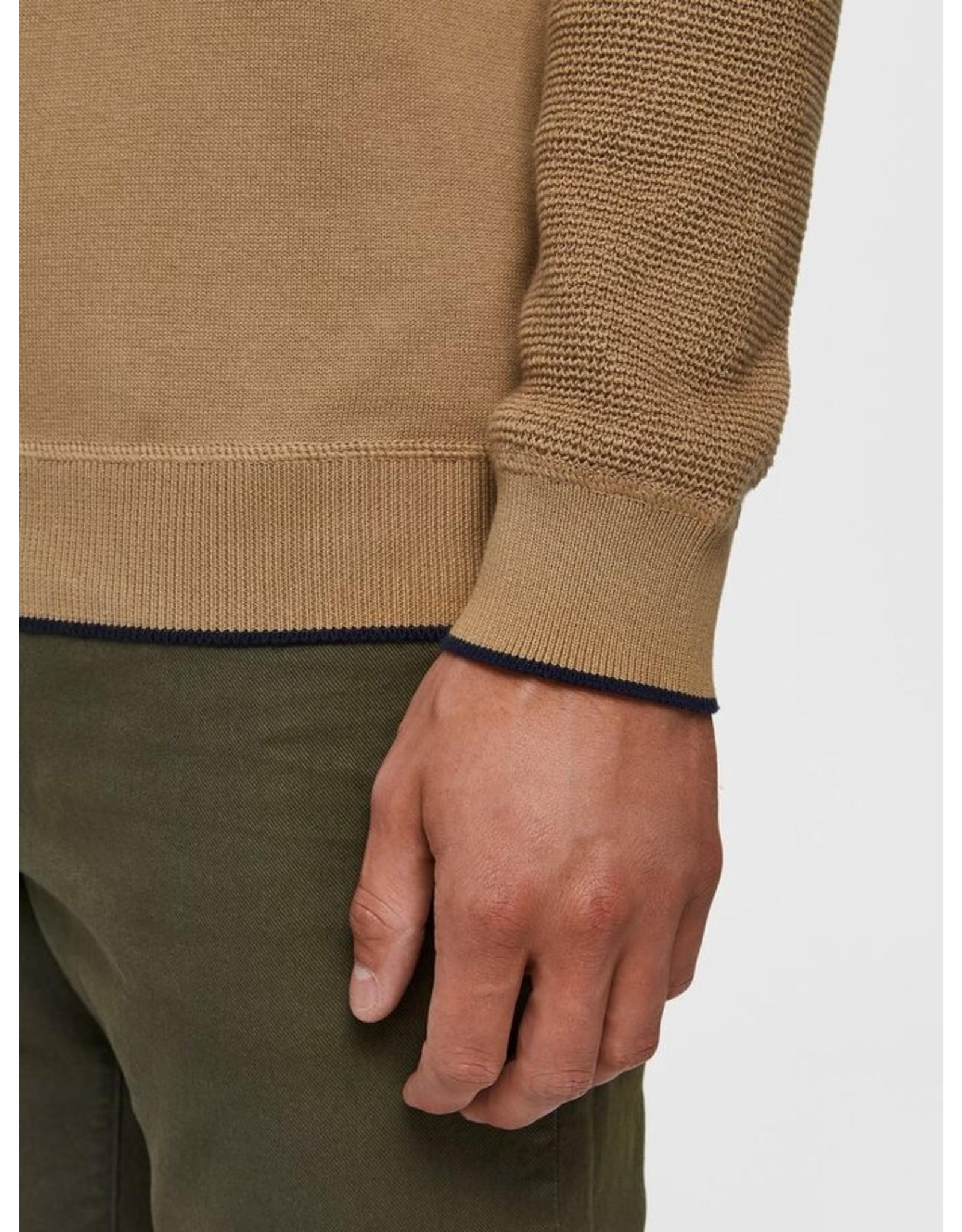 Jack & Jones Jack & Jones Selected Homme Drake Crew Neck Sweater - Kelp