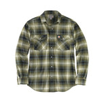 Carhartt Carhartt Rugged Flex Flannel Shirt with Snaps