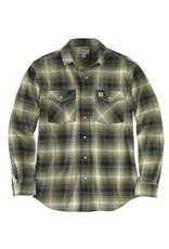 Carhartt Carhartt Rugged Flex Flannel Shirt with Snaps