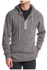 Stanfields Stanfields Heavy Weight Wool Henley with Hood 1329