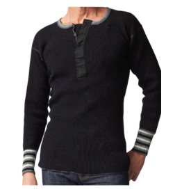 Stanfields Stanfields Heritage Wool Henley 1327