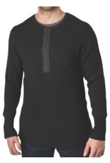 Stanfields Stanfield's Heavyweight Wool Henley - 2 Colors 1328